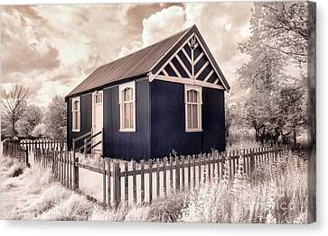 The Reading Room Appleton Le Moors Canvas Print by Janet Burdon