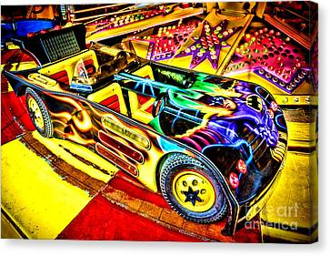 The Real Batmobile Canvas Print by Olivier Le Queinec