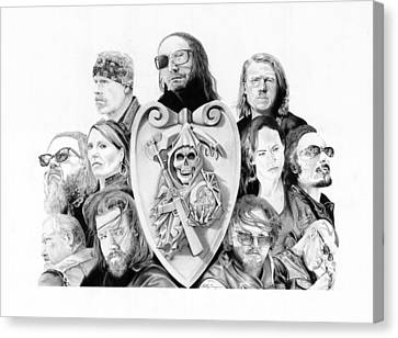 The Reaper Crew Canvas Print by Keith Larocque