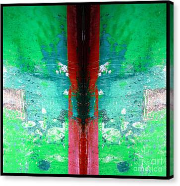 The Red Blade Canvas Print by Marcia Lee Jones