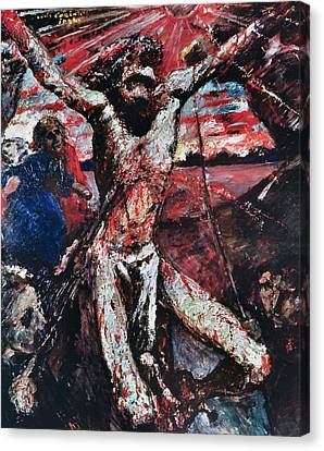 The Red Christ Canvas Print by Lovis Corinth