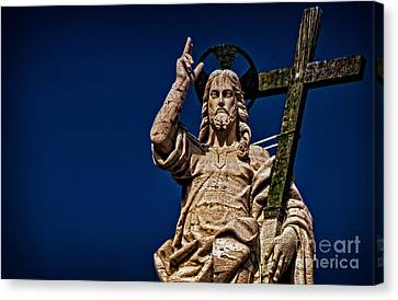 The Redeemer Canvas Print by Jaymes Williams