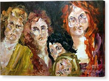 The Redheaded Step Child Canvas Print by Michelle Dommer