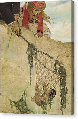 The Rescue Circa 1916 Canvas Print by Aged Pixel