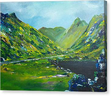 The Ring Of Kerry Canvas Print by Conor Murphy