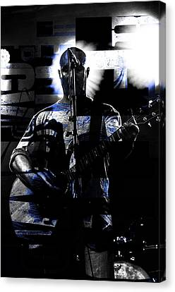 The Rocker  Canvas Print by Toppart Sweden