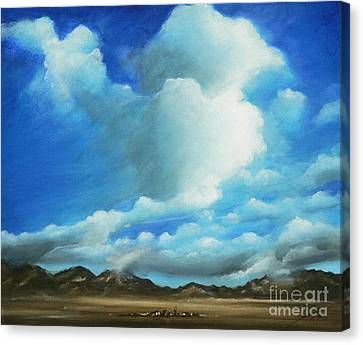 The Rockies Canvas Print by Susi Galloway