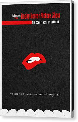 The Rocky Horror Picture Show Canvas Print by Ayse Deniz