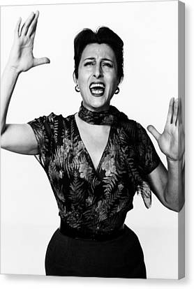 The Rose Tattoo, Anna Magnani, 1955 Canvas Print by Everett