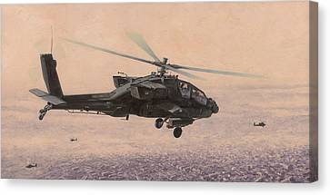 The Sadr City Flying Club Canvas Print by Wade Meyers