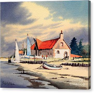 The Sailing Club  Canvas Print by Bill Holkham