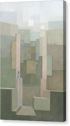 The Salt Palace Canvas Print by Steve Mitchell
