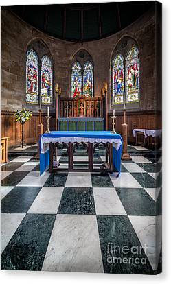 The Sanctuary Canvas Print by Adrian Evans