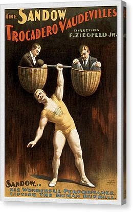 The Sandow Canvas Print by Aged Pixel