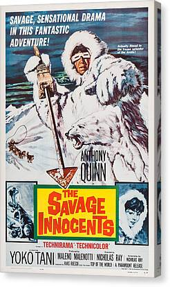 The Savage Innocents, Us Poster Art Canvas Print by Everett