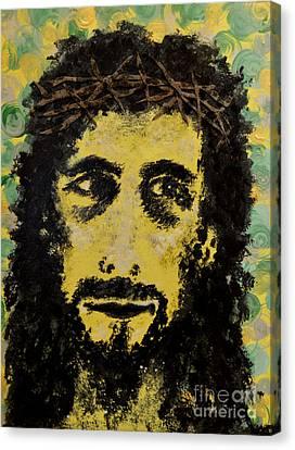 The Savior Canvas Print by Alys Caviness-Gober