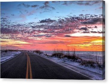 The Scenic Route Canvas Print by JC Findley