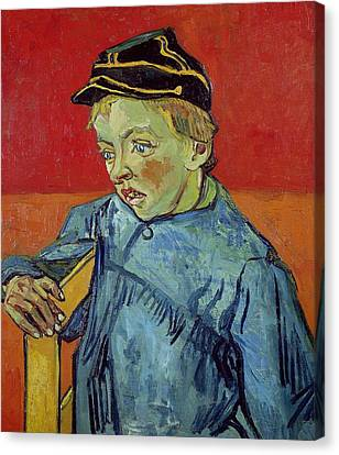The Schoolboy Canvas Print by Vincent Van Gogh