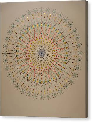 The Scintillation Of Sound Healing Canvas Print by Mark Golding