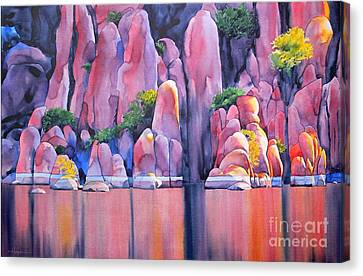 The Secret Cove Canvas Print by Robert Hooper