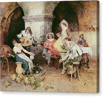 The Serenade Canvas Print by Francesco Vinea