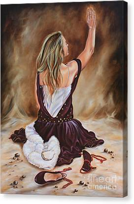 The Servant Princess Canvas Print by Ilse Kleyn