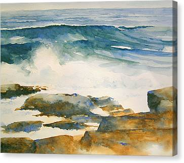 The Seventh Wave Canvas Print by William Beaupre