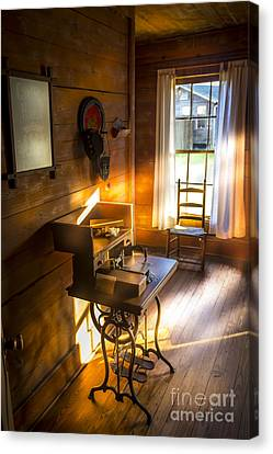 The Sewing Room Canvas Print by Marvin Spates