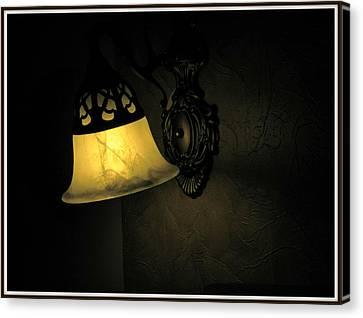 The Shadow Canvas Print by Utkarsh Maheshwari