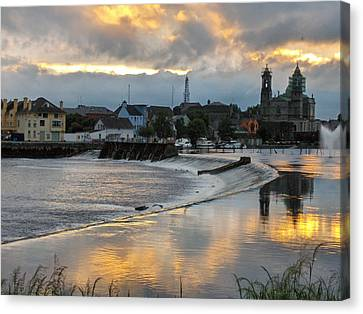 The Shannon River Canvas Print by Brenda Brown