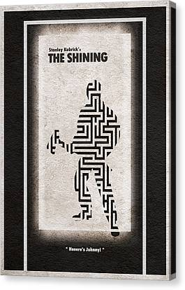 The Shining Canvas Print by Ayse Deniz
