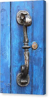 The Silver Handle Canvas Print by Barbara Chichester