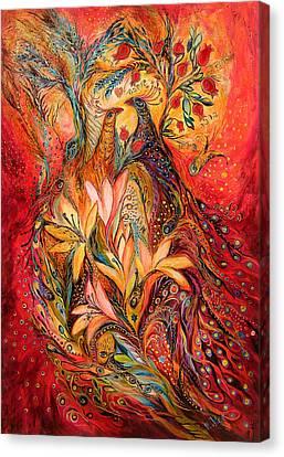 The Sirocco Canvas Print by Elena Kotliarker