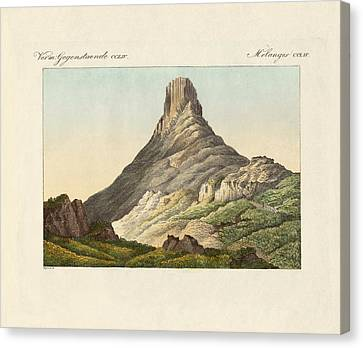 The Skuir On The Egg Island Canvas Print by Splendid Art Prints
