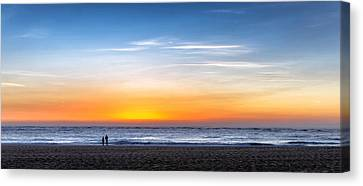 Canvas Print featuring the photograph The Sky As The Only Limit by Thierry Bouriat