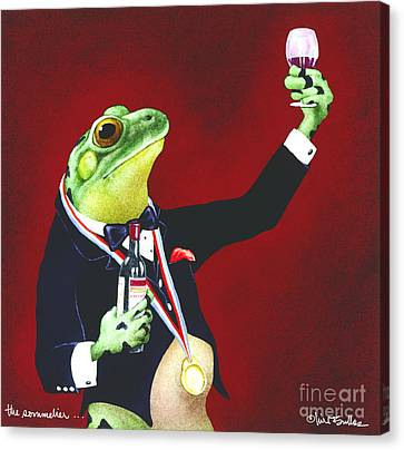 The Sommelier... Canvas Print by Will Bullas