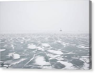 The Song Of Ice Canvas Print by Joanna Madloch