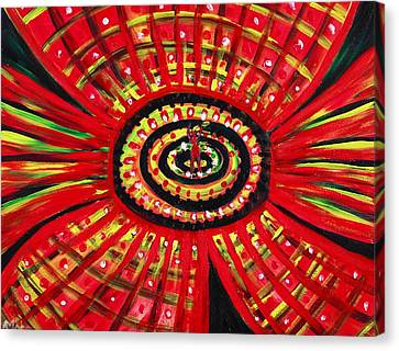 The Soul Of The Flower Canvas Print by Anastasiya Malakhova