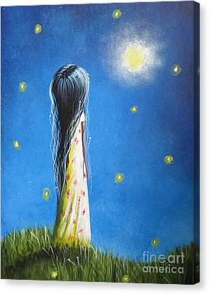 The Sound Of Light By Shawna Erback Canvas Print by Shawna Erback