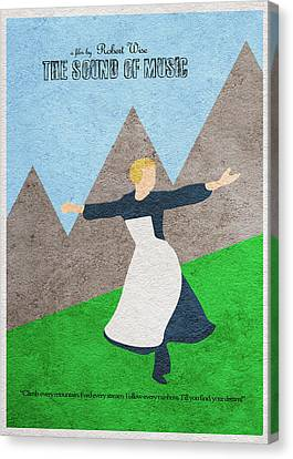 The Sound Of Music Canvas Print by Ayse Deniz