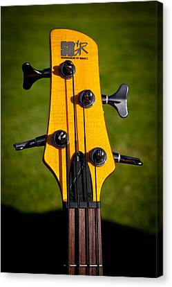 The Soundgear Guitar By Ibanez Canvas Print by David Patterson