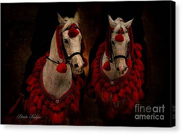 The Sounds Of Desert Canvas Print by Dorota Kudyba