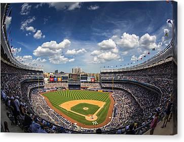 The Stadium Canvas Print by Rick Berk