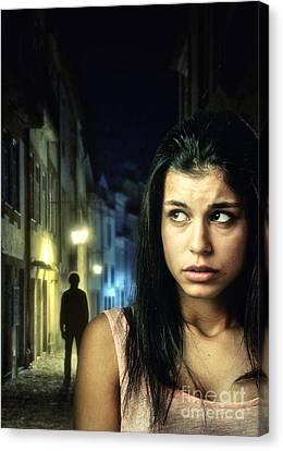 The Stalker Canvas Print by Carlos Caetano
