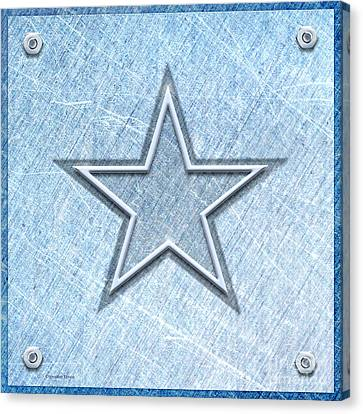 The Star Canvas Print by Cristophers Dream Artistry