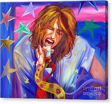 The Star Is Born Canvas Print by To-Tam Gerwe