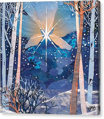 The Star Canvas Print by Robin Birrell