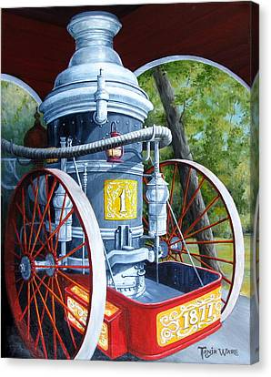 The Steamer Canvas Print by Tanja Ware
