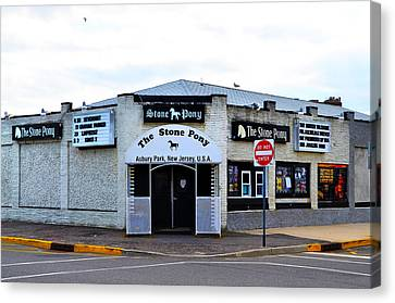 The Stone Pony Canvas Print by Bill Cannon