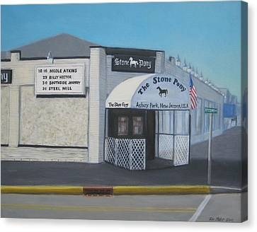 the Stone Pony Canvas Print by Tim Maher